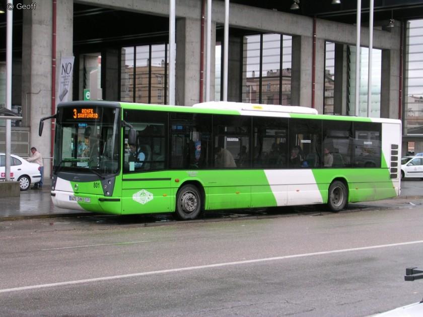Iveco CityClass with Hispano Habut body