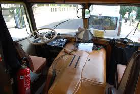 Leipzig IFA Bus 1956 Cabin