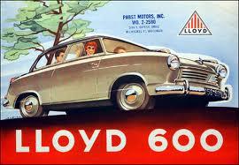 Lloyd 600 Ad