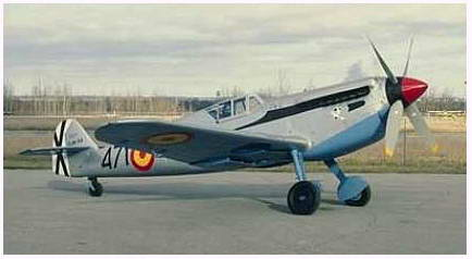 Me 109  Hispano HA 1112 M1L 'Buchon