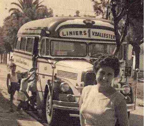 Mercedes Benz L 312 Antártida Argentina 1955