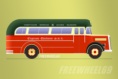 Buses builders with an a impossible to put in an special for Mercedes benz argentina