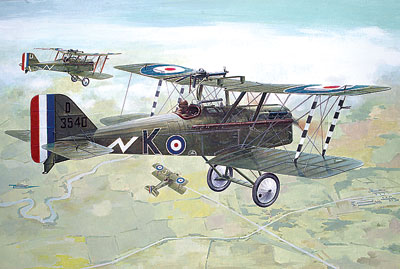 RAF S.E.5a (Hispano Suiza) WW1 fighter