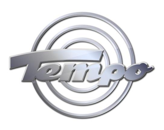 Tempo-Logo-Metall