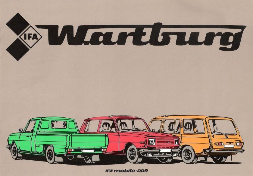 Wartburg brochure