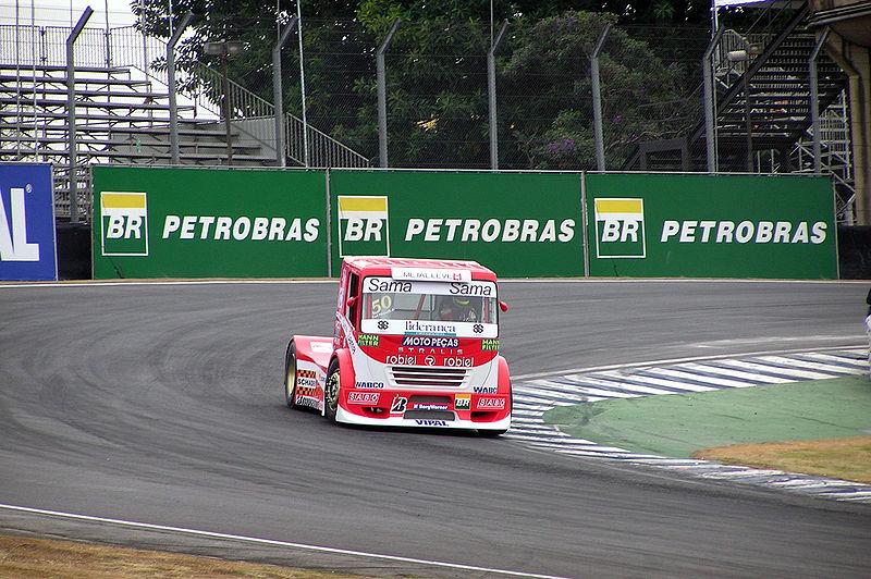 09 Iveco Stralis racing truck