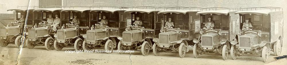 1911 Commer WW1 ambulance