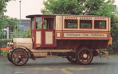 1911 Saurer Omnibus Kässbohrer