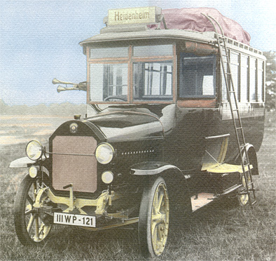 1919 Magirus 2 C V 110 Kässbohrer