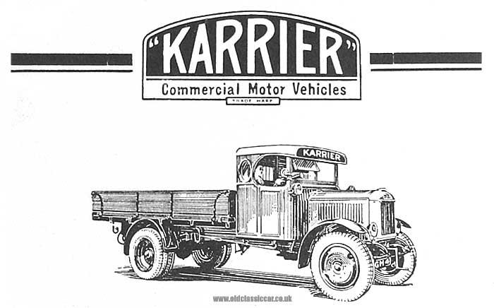 1920 karrier-lorry