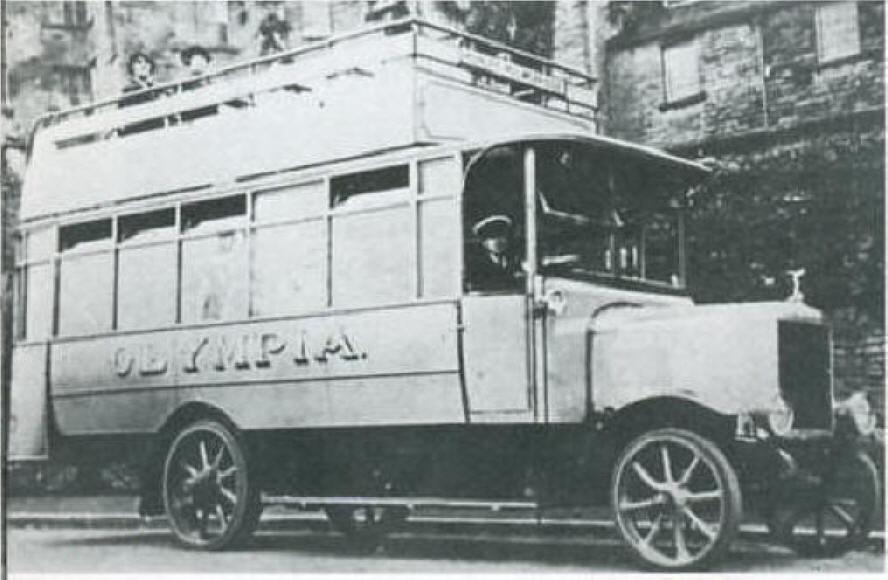 1922-25 Karrier OT46R seats