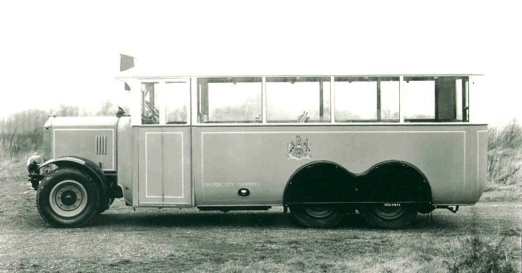 1926 smaller Karrier CL6-1 buses