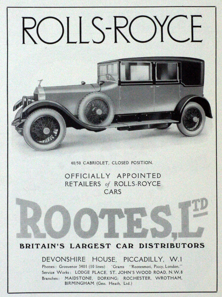 1927 CGJ-Rootes