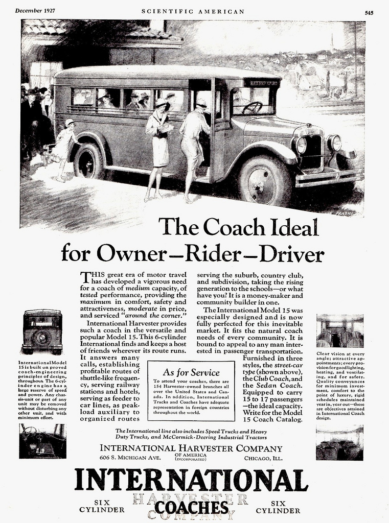 1927 International Model 15 Coach