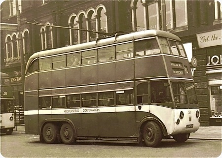 1929 Karrier E6 trolleybuses built to a similar style to the larger group of Park Royal trolleybuses