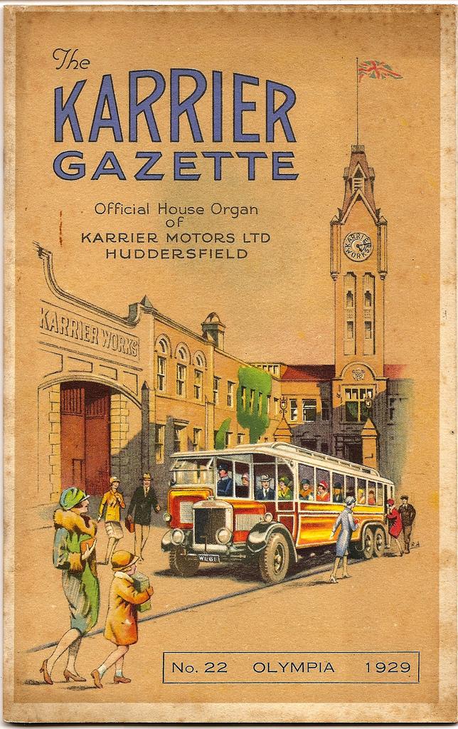1929 Karrier Gazette