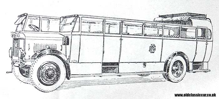 1930 Karrier coach-body