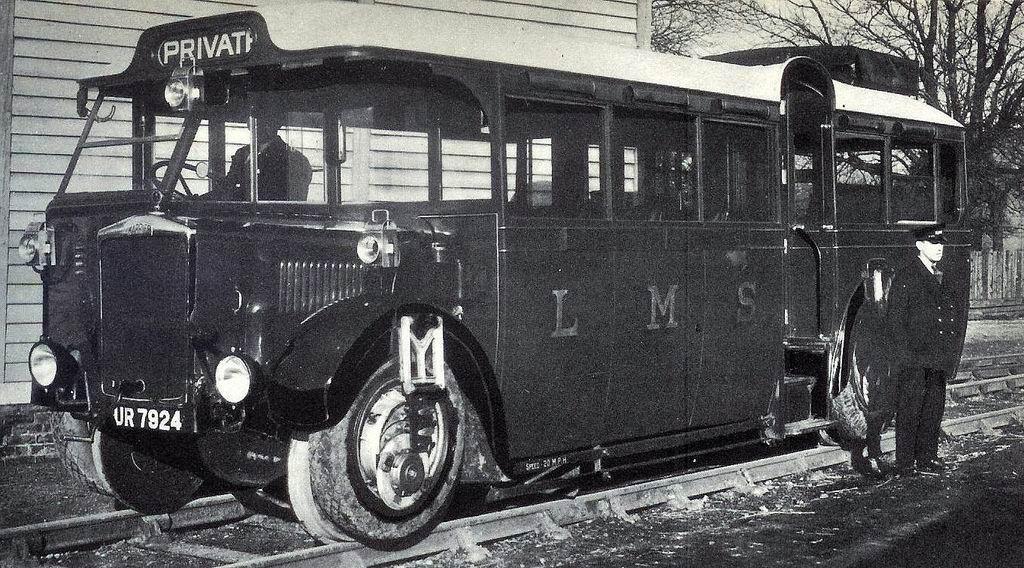 1932 LMS Karrier Rail-bus