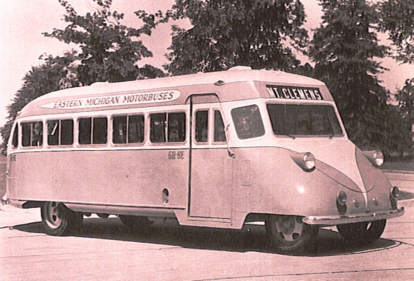 1937 GARWOODEASTMICH 611-8E was a pre Aerocoach 1937 Model CTF powered by a series C Ford Transit type engine