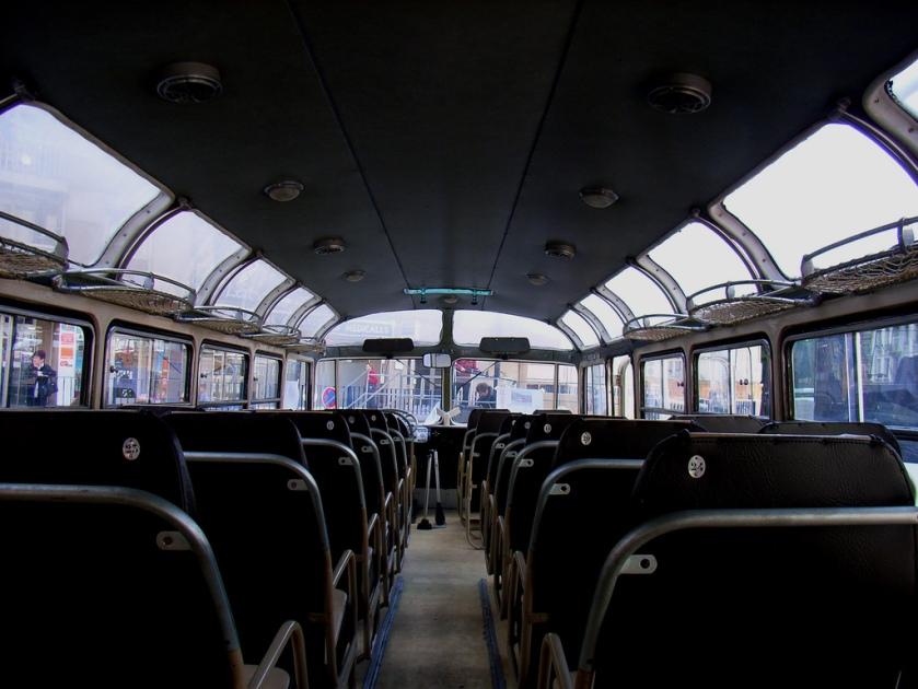 1938 Autocar Isobloc Panoramique Inside