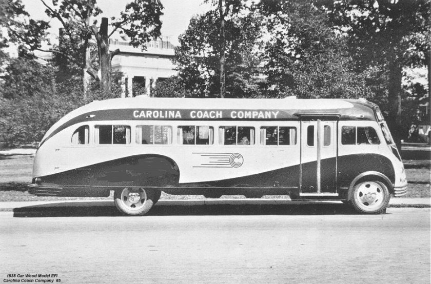 1938 Gar Wood Model EFI Carolina Coach Company 65