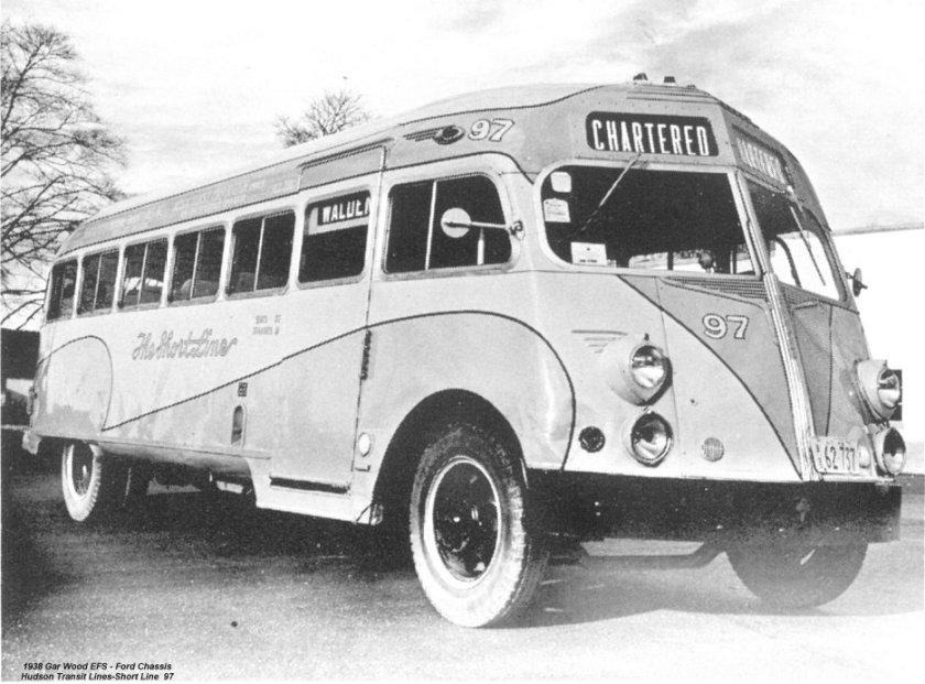 1938 GarWood EFS Ford Chassis Hudson Transit Lines- Short Line 97