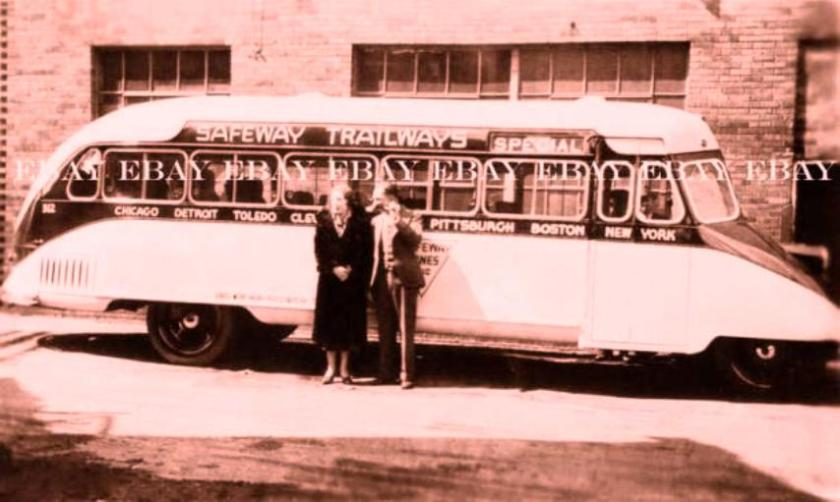 1938 GARWOOD SAFEWAY TRAILWAYS