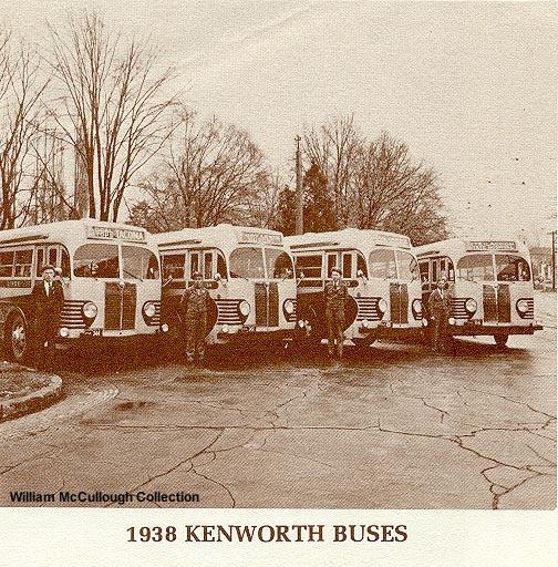1938 Kenworth Buses.