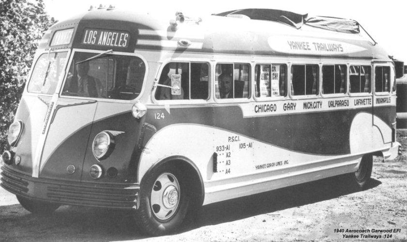 1940 Aerocoach GarwoodEFI Yankee Trailways 124