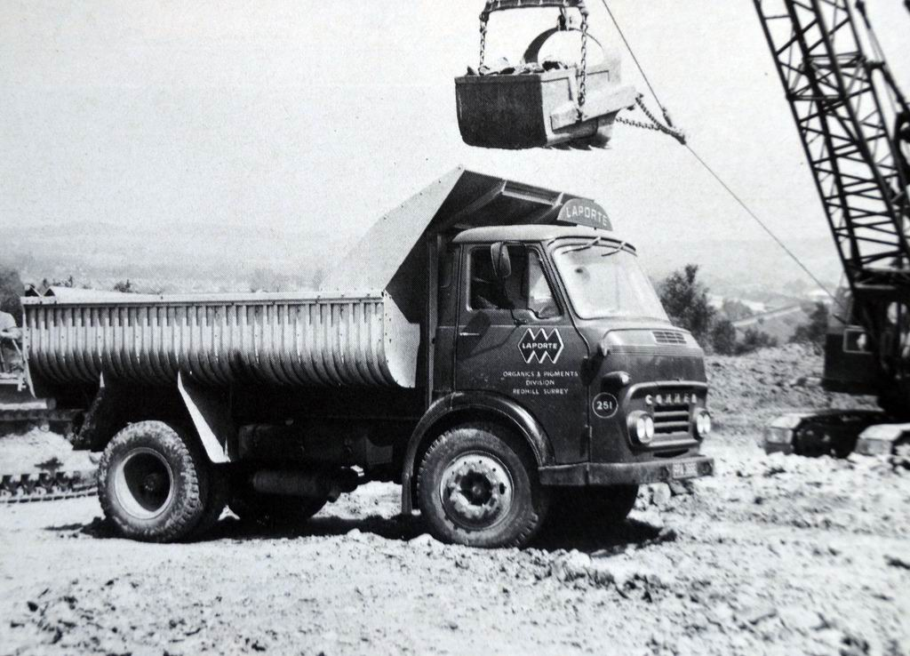 1940 Commer Tipper Being Loaded
