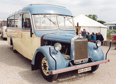 1941 Mercedes O 2600 Kässbohrer