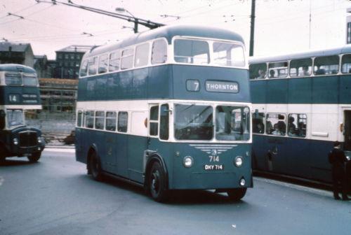 1942 Bradford Karrier W trolleybus 714 DKY714.
