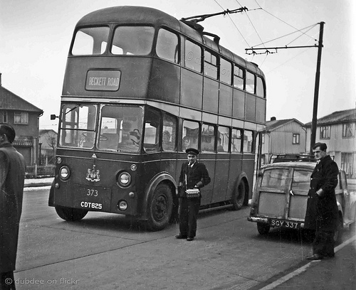 1942 Doncaster Corporation Karrier W Trolleybus CDT625