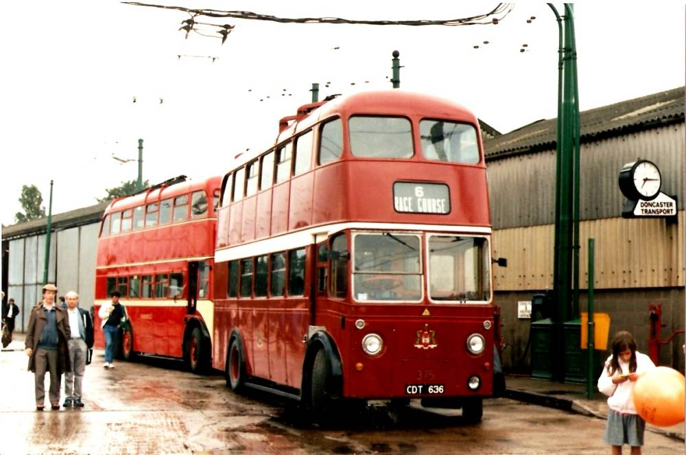 1945 Karrier W 1945 delivered with Park Royal bodywork, numbered 75 when new, renumbered 375 in 1948