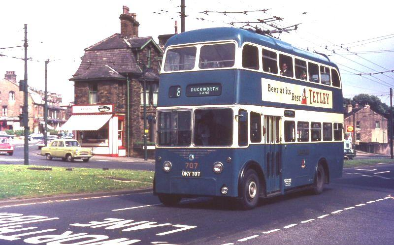 1945 Karrier W with East Lancs body fitted in 1960