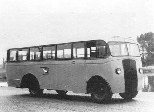 1946 Jongerius Bedford Noodbussen