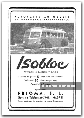 1948 ISOBLOC BUS (GAR WOOD)