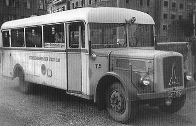 1948 Magirus O 3000 Kässbohrer