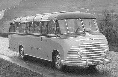 1950 Henschel Bimot - HS 190 N Kässbohrer