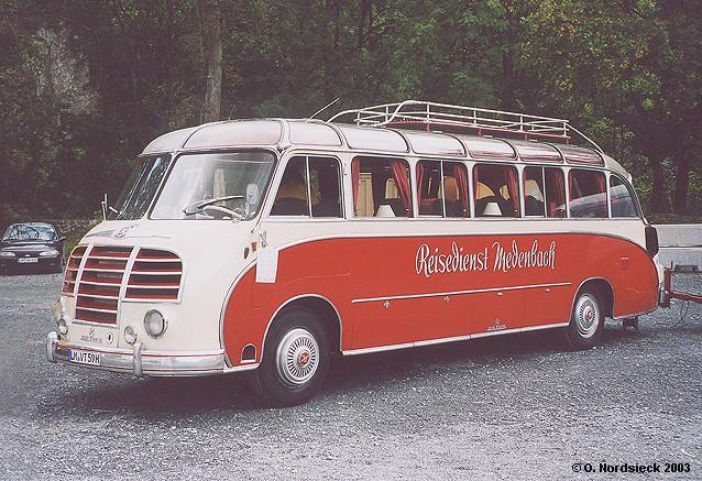1950 Setra S 8 Reisebus dl