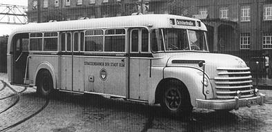 1951 Henschel HS 140 N Kässbohrer