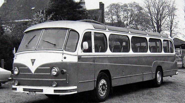 1951 jonckheere aec bus