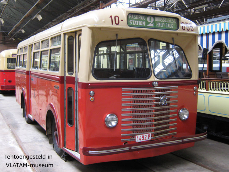 1951 jonckheere chevrolet-perkins bus