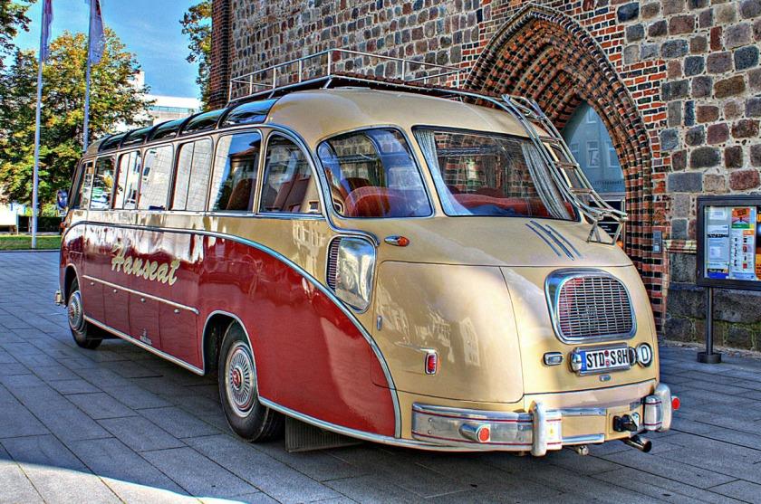 1951 Setra S8 Kässbohrer Oldtimer Bus
