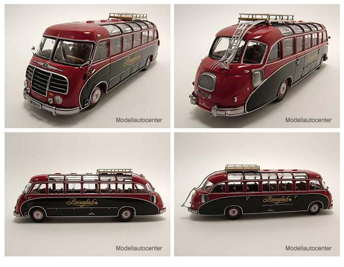 1951 Setra S8 rot-schwarz Reiseglück