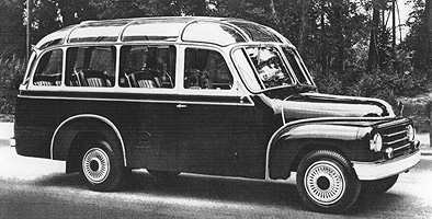 1952 Hanomag L 28 Kässbohrer