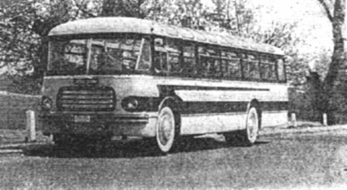 1952 Jelcz W odra