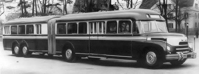 1952 Kässbohrer, op basis van het MAN chassis type MKN26