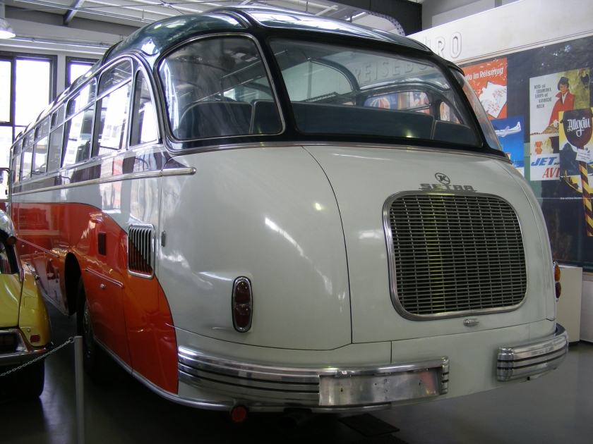 1952 Kässbohrer Setra bus