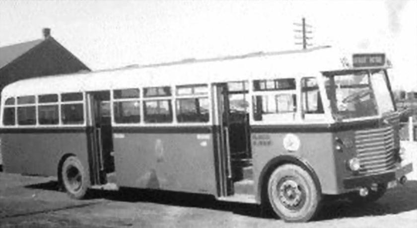 1953 Brossel A77 DLV Jonckheere België